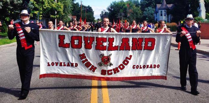2014_Crimson Regiment_Corn Roast Parade