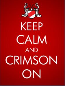 Keep Calm and Crimson On v2
